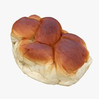 french brioche 3D model