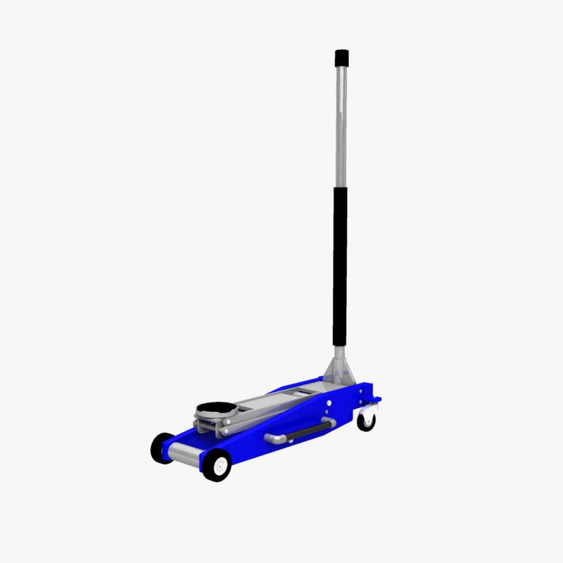 hydraulic car jack 3D model