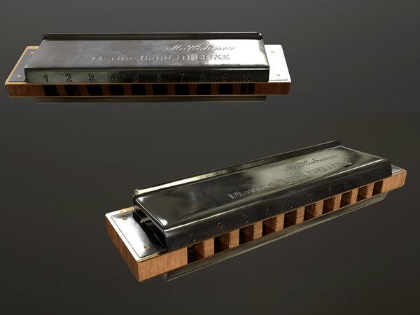 harmonica 3D