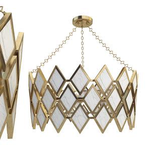 3D robert abbey edward chandelier model