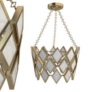 3D robert abbey edward pendant