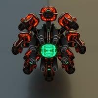 3D engine motor