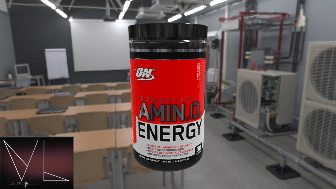 supplement gainer 3D model