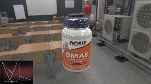 dmae bottle 3D model