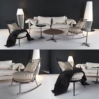 3D cantori sofas armchairs