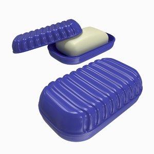 3D soap dish model