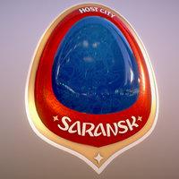 Saransk Host City Russia 2018 Symbol