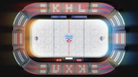 hockey arena khl stars 3D model