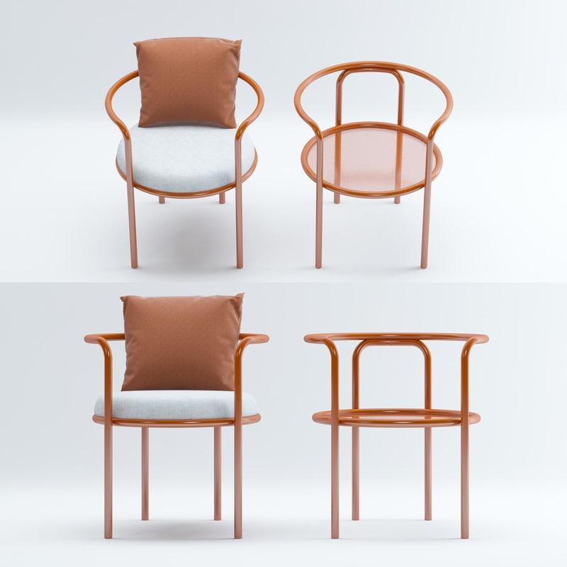 3D exteta locus solus chair