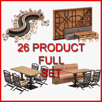 Furniture Set 04 (26 Product)