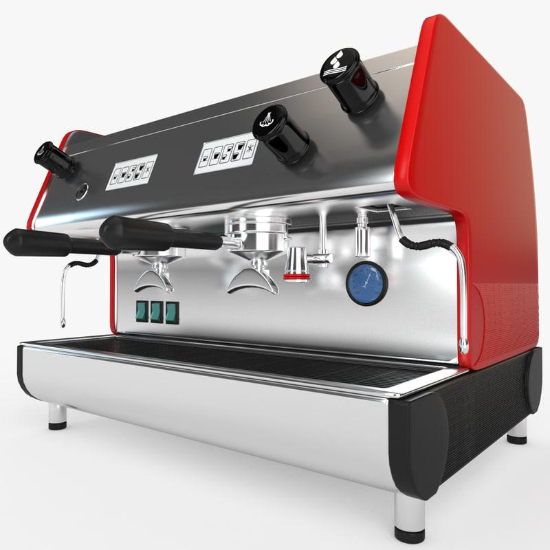 3D model pub 2v-r espresso machines