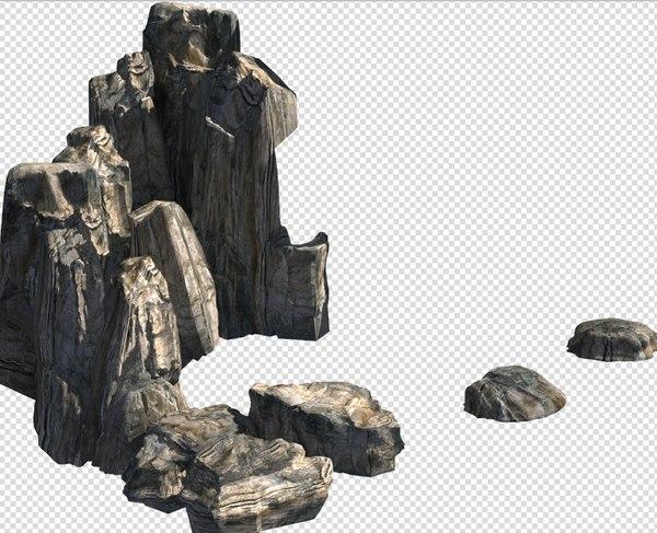 3D landscapes red rock