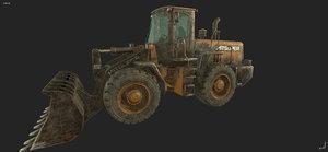 old loader 3D model