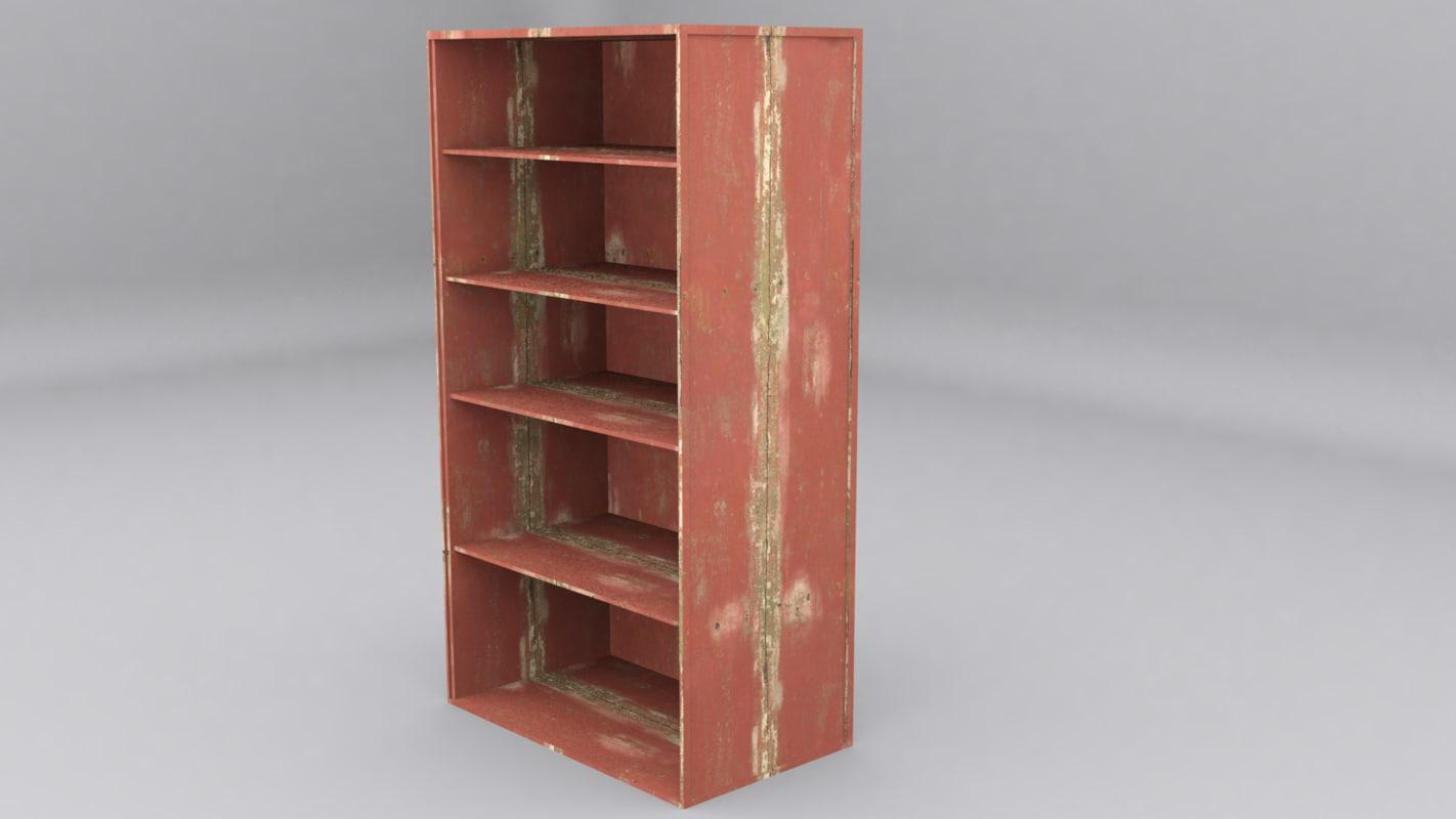3D old wood
