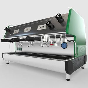 3D model pub 3v-r espresso machines