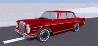 vintage mercedes-benz 300 se 3D model