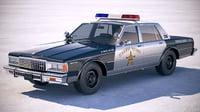 Chevrolet Caprice Police Car 1978