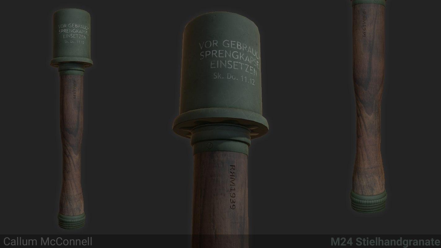 hand grenade wehrmacht model