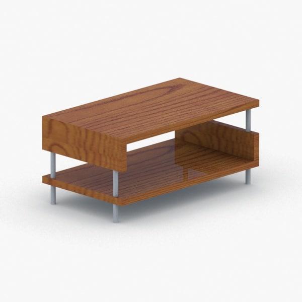 - chair table 3D