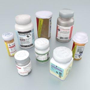bottle pill model