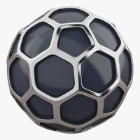 Hexagon Silver Ball
