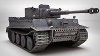 Tiger 1 Tank PBR