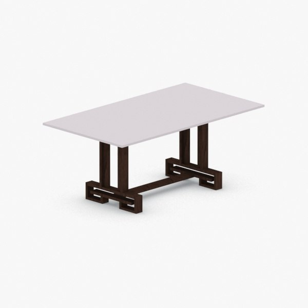 - chair table 3D