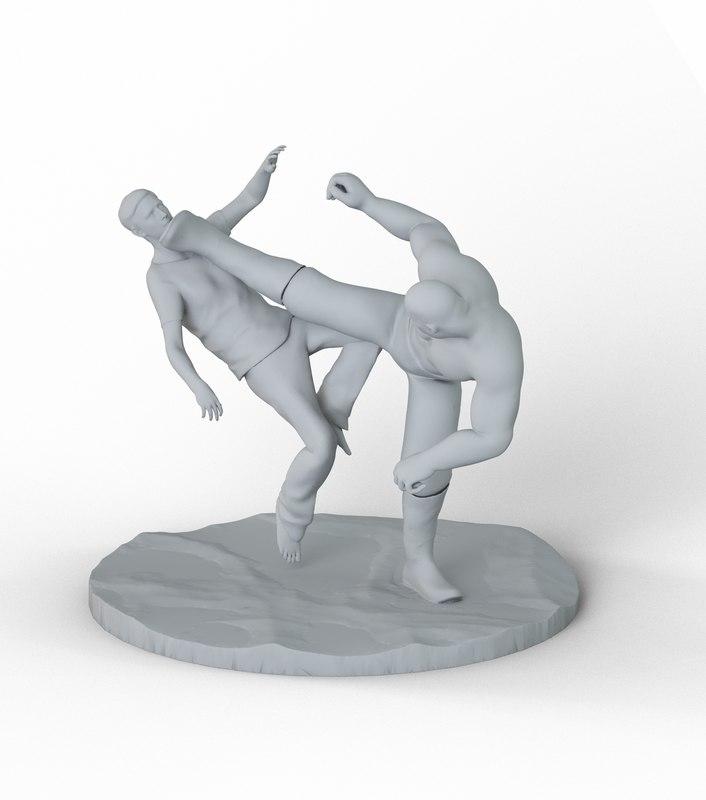 kick printer 3D model