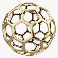 Hexagon Gold Structure