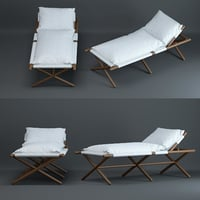 paraggi-sun-lounger 3D model