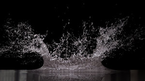 water splash big 3D
