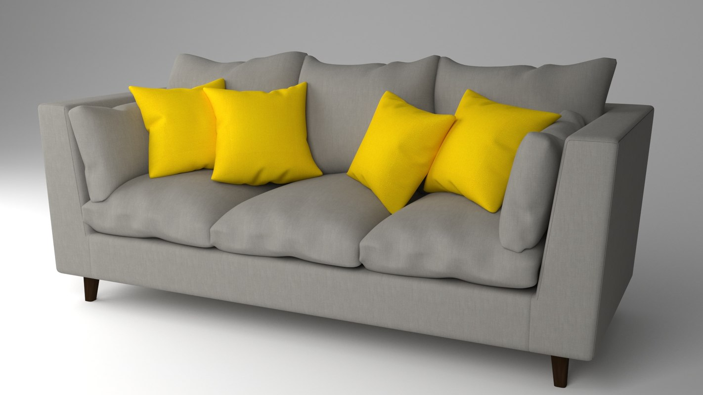Sofa Model Turbosquid 1263770