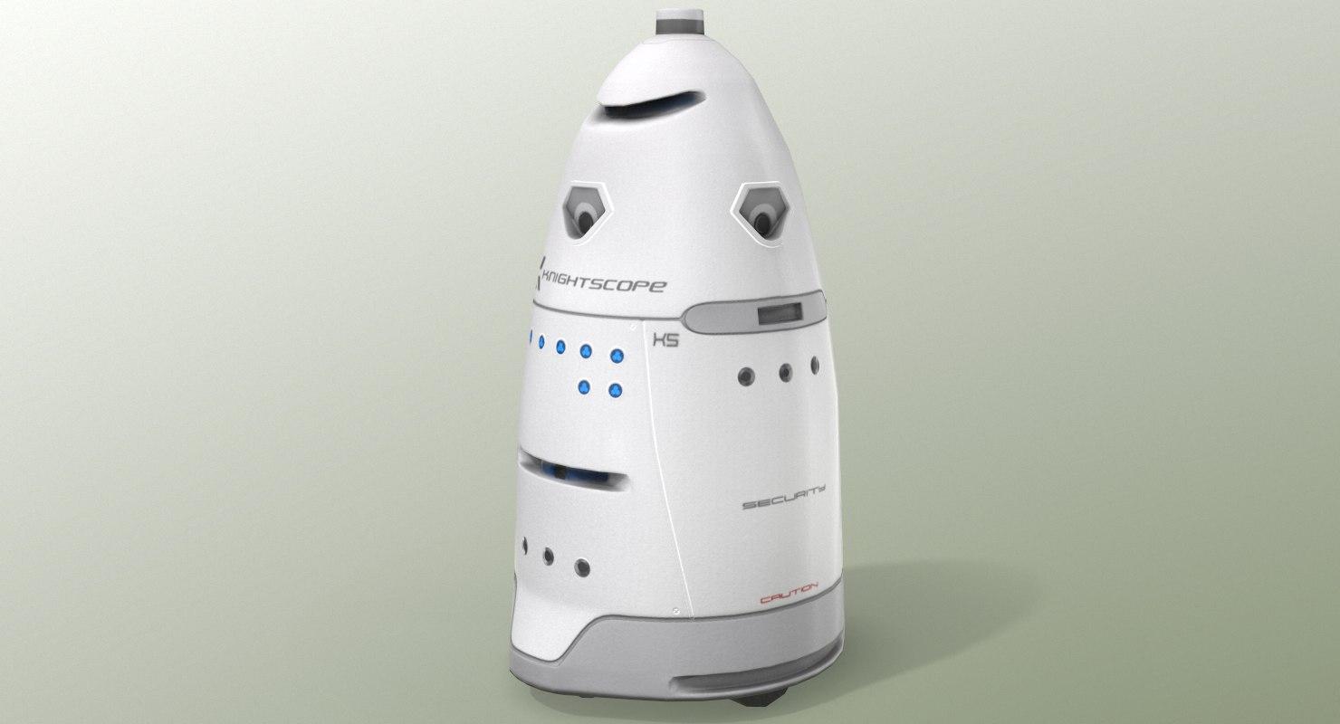 knightscope k5 robot model