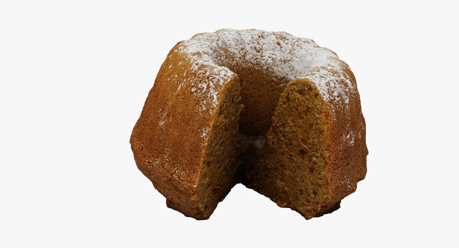 3D scan guglhupf cake