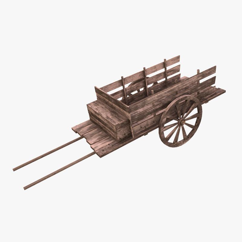 3D cart model