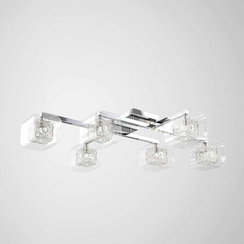 crystal light house ceiling model