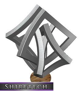 3D metal art sculpture 13
