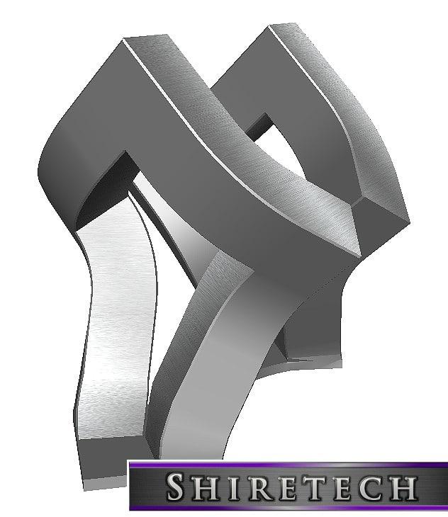 3D model metal art sculpture 14