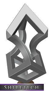 3D metal art sculpture 16