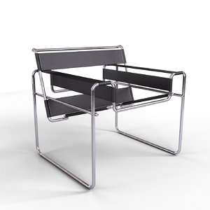 wassily chair 3D