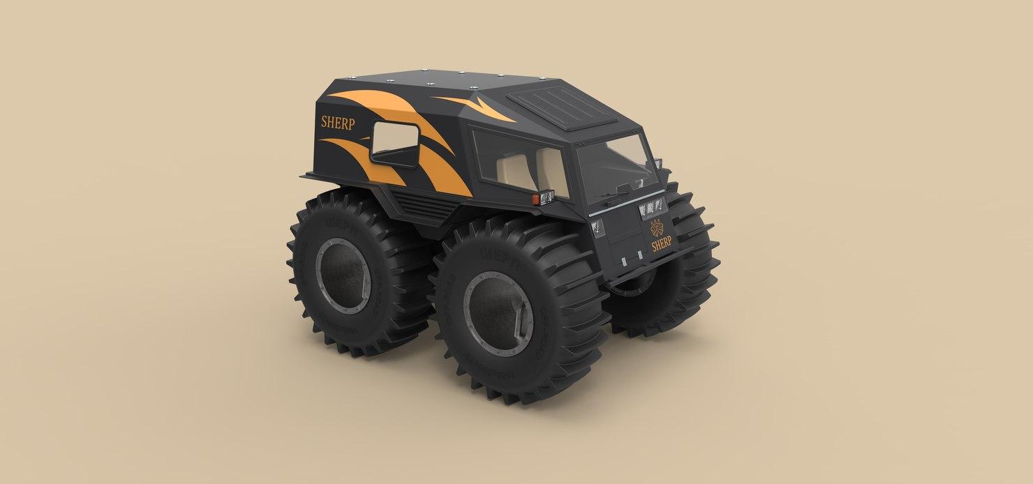 3D sherp model