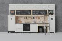 kitchen scene 3D