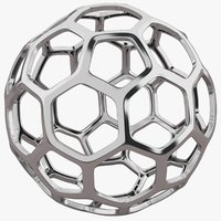 Hexagon Silver Structure