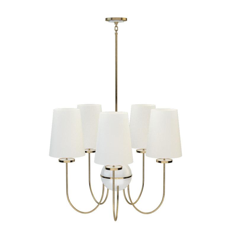 robert abbey fineas chandelier model
