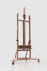 3D artist s easel model