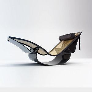 niemeyer rio lounge chair model