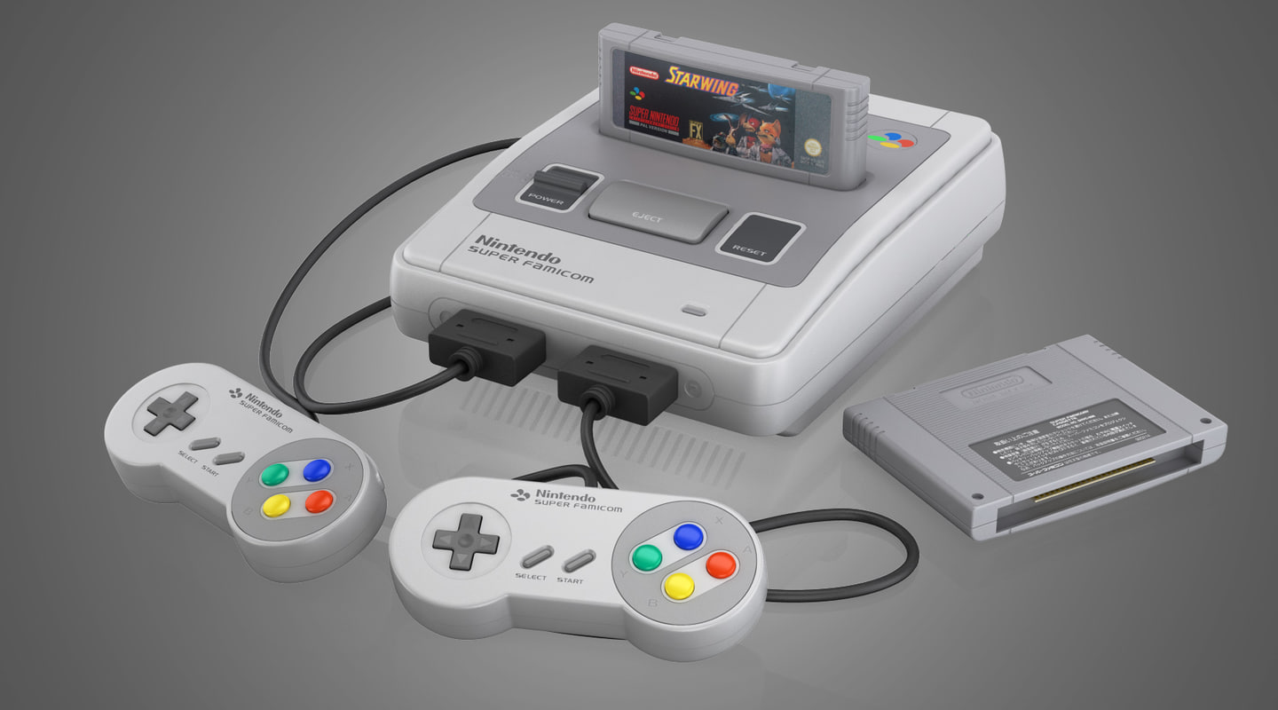 super nintendo entertainment 3D
