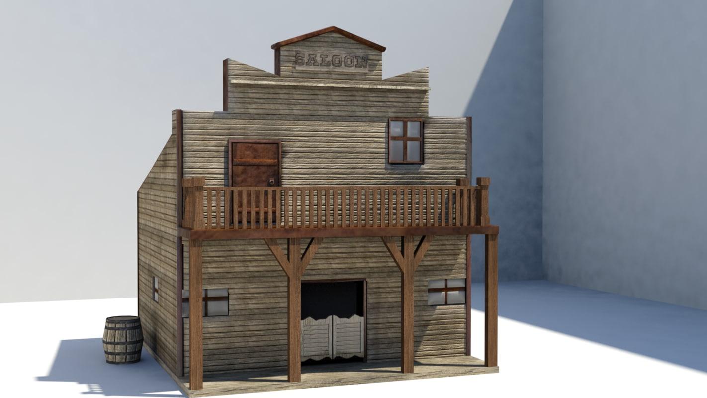 western saloon model