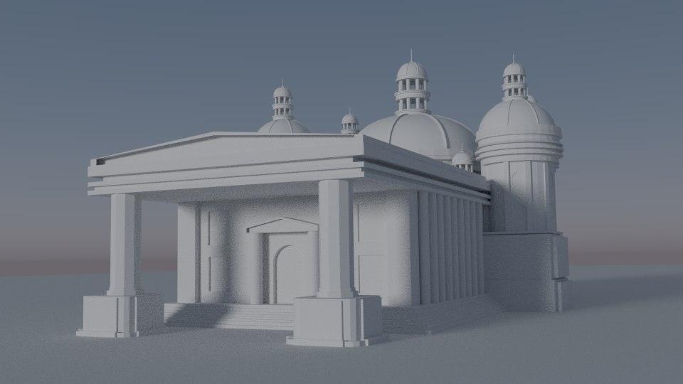palais 3D model