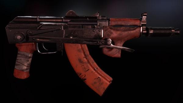 3D akmsu rifle